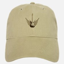 Winged Electric Guitar Baseball Baseball Cap