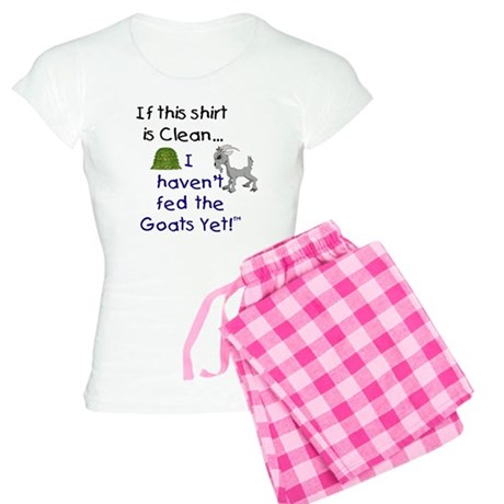 GOATS-If this Shirt is Clean Women's Light Pajamas