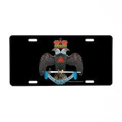 32nd Degree Masonic Aluminum License Plate