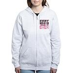BC Every Mile Is Worth It (Gals) Women's Zip Hoodi