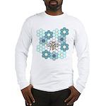 Honeybee & G'mothers Flowers Long Sleeve T-Shirt