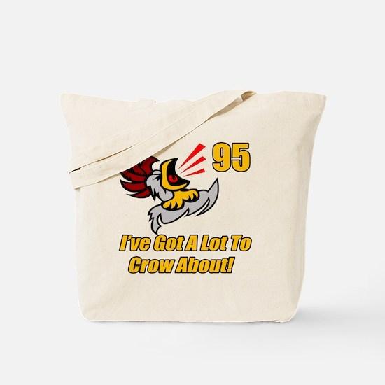 95th Birthday Tote Bag