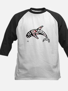 Killer Whale Kids Baseball Jersey