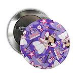 "Cute Fairytale Princess 2.25"" Button (10 Pk)"