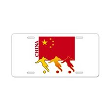 China Soccer Aluminum License Plate