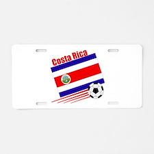 Costa Rica Soccer Team Aluminum License Plate