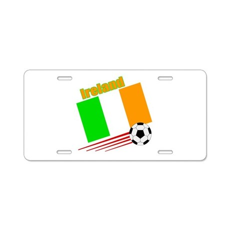 Ireland Soccer Team Aluminum License Plate