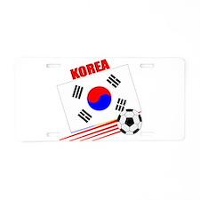 Korea Soccer Team Aluminum License Plate