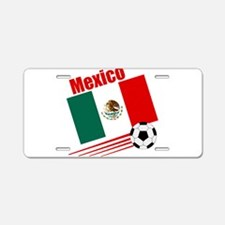 Mexico Soccer Team Aluminum License Plate