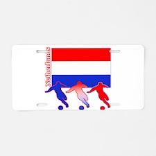 Soccer Holland Aluminum License Plate