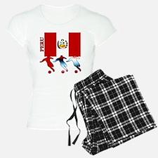 Peru Soccer Pajamas