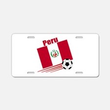 Peru Soccer Team Aluminum License Plate