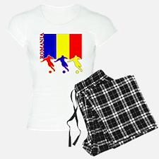 Romania Soccer Pajamas