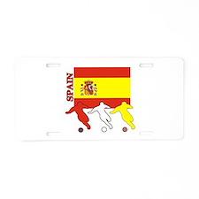 Spain Soccer Aluminum License Plate