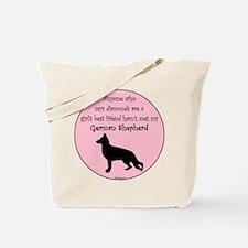 Girls Best Friend - GSD Tote Bag