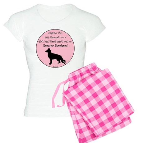Girls Best Friend - GSD Women's Light Pajamas