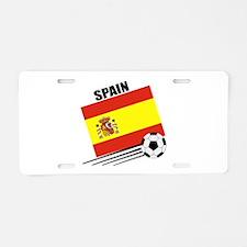 Spain Soccer Team Aluminum License Plate