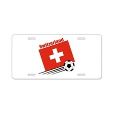 Switzerland Soccer Team Aluminum License Plate