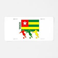 Togo Soccer Aluminum License Plate