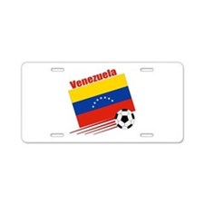Venezuela Soccer Team Aluminum License Plate