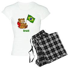 Brazil Teddy Bear Pajamas