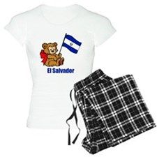 El Salvador Teddy Bear Pajamas