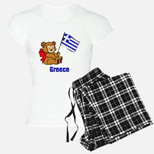 Greece Teddy Bear Pajamas