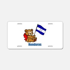 Honduras Teddy Bear Aluminum License Plate