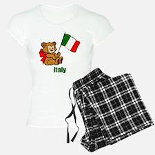 Italy Teddy Bear Pajamas