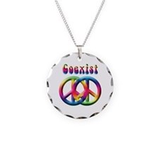 Coexist Peace Sign Necklace