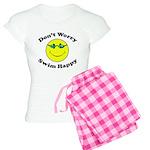 Don't Worry Swim Happy Women's Light Pajamas