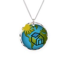 Solar Power Earth Necklace