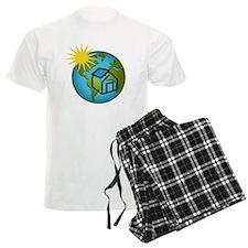 Solar Power Earth Pajamas