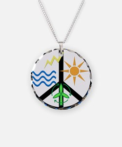 Force For Alternative Energy Necklace