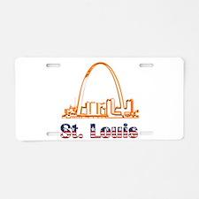 Gateway Arch Aluminum License Plate