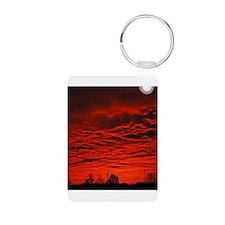Delta Fiery Sunrise Keychains