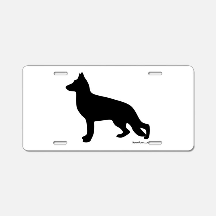 GSD Silhouette Aluminum License Plate