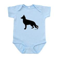 GSD Silhouette Infant Bodysuit