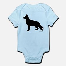 GSD Silhouette Infant Bodysuit