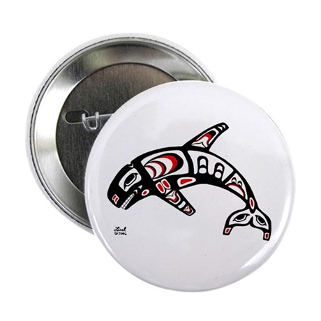 "Killer Whale 2.25"" Button (10 pack)"