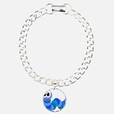 Cute Little Goofkins Caterpil Charm Bracelet, One