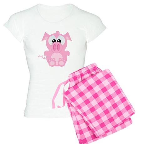 Goofkins Cute Little Piggy Women's Light Pajamas