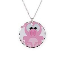 Goofkins Cute Little Piggy Necklace