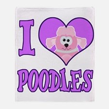 I Heart Love Poodles Cute Goofkins Animal Design T