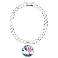 I Love (Heart) Piggies (Pigs) Bracelet
