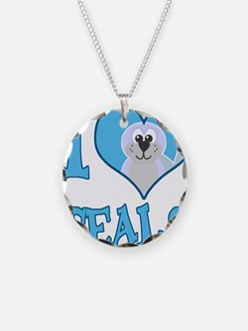 I Love (Heart) Seals Necklace