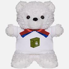 Sir Cache a Lot Teddy Bear