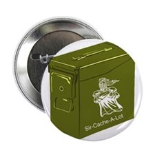 "Sir Cache a Lot 2.25"" Button (100 pack)"