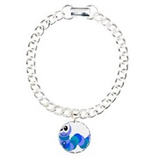 Blue Awareness Ribbon Goofkin Bracelet