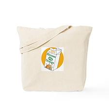 Unique Rhymes orange Tote Bag